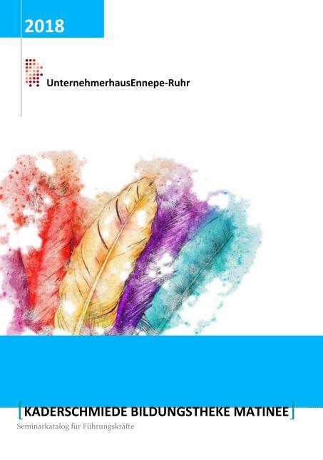 Seminarkatalog Führungskräfte UnternehmerHaus Ennepe-Ruhr