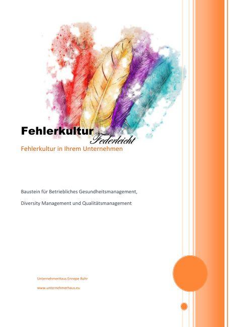 Broschüre Fehlerkultur UnternehmerHaus Ennepe Ruhr